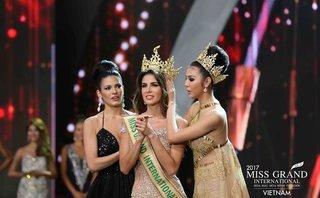 Sự kiện - Người đẹp Peru đăng quang Hoa hậu Hòa bình Quốc tế 2017