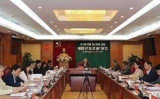 Chính trị - UBKT Trung ương xem xét kỷ luật một số lãnh đạo địa phương