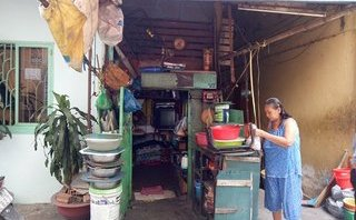Xã hội - Cận cảnh những ngôi nhà siêu 'tí hon' giữa Sài thành nhộn nhịp