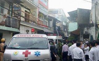 Tin nhanh - Cháy nhà trong hẻm, 3 mẹ con tử vong: Có thể do chập điện