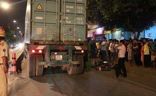Tin nhanh - Va chạm với container, một người tử vong tại chỗ