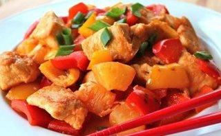 Gia đình - Món ngon mỗi ngày: Cuối tuần vào bếp làm món gà xào chua ngọt