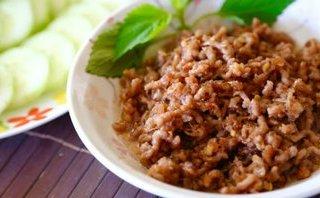 Gia đình - Món ngon mỗi ngày: Thịt chưng mắm tép đưa cơm ngày se lạnh