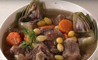 Gia đình - Món ngon mỗi ngày: Đuôi bò hầm atiso bổ dưỡng