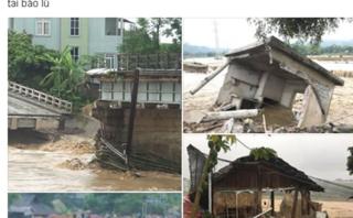 Cộng đồng mạng - Ấm lòng lời kêu gọi hướng về người dân vùng bão lũ Yên Bái