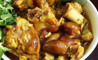 Gia đình - Món ngon mỗi ngày: Thịt chân giò nấu giả cầy thơm ngon