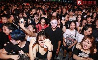 Cộng đồng mạng - Halloween 2017: Hơn 3000 bạn trẻ Hà thành cháy hết mình cùng Slim V, Soobin