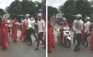 Cộng đồng mạng - Dàn bê tráp nhảy cực sung giữa đường: Vui nhưng phải có ý thức!