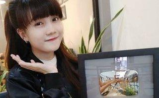 Cộng đồng mạng - Ngẩn ngơ trước nhan sắc của 9X Kiên Giang vừa nhận nút Play bạc từ YouTube