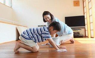 Gia đình - Trả tiền cho trẻ làm việc nhà: Đừng làm hư con!
