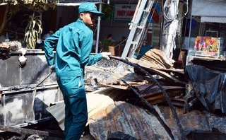 Xã hội - Cháy chợ ở Cà Mau: Tiểu thương trắng tay trước Tết Nguyên đán