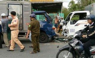 Tin nhanh - Cạy cửa cứu tài xế sau vụ tai nạn giao thông liên hoàn