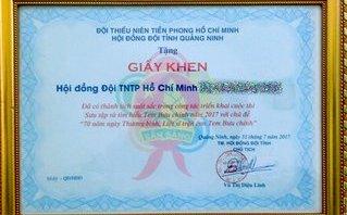 Chính trị - Xã hội - Quảng Ninh: Giấy khen ghi sai lỗi chính tả