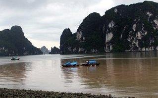 Môi trường - Quảng Ninh: Làm rõ dải nước màu đỏ đục xuất hiện trên vịnh Hạ Long