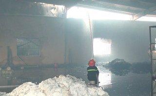 Chính trị - Xã hội - Thái Bình: Cháy lớn hoành hành 1 đêm thiêu rụi nhà máy sợi