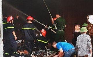 Chính trị - Xã hội - Quảng Ninh: Cháy kho ngoại quan tại Móng Cái