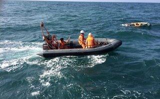 Chính trị - Xã hội - Cứu sống 4 ngư dân trên tàu cá gặp nạn tại vịnh Bắc Bộ