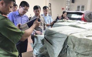 Tin nhanh - Quảng Ninh: Thưởng nóng vụ bắt giữ 55.000 bao thuốc lá nhập lậu