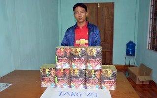Tin nhanh - Quảng Ninh: Bắt giữ đối tượng vận chuyển trái phép 16kg pháo nổ