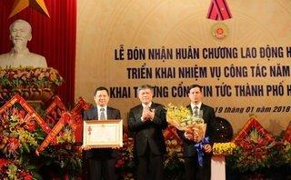 Tin nhanh - Sở Thông tin và Truyền thông Hải Phòng đón nhận Huân chương Lao động hạng 3