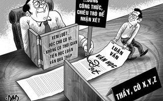 Pháp luật - Sôi động thị trường viết luận văn: Khi 'tiến sĩ' mưu sinh bằng nghề viết thuê