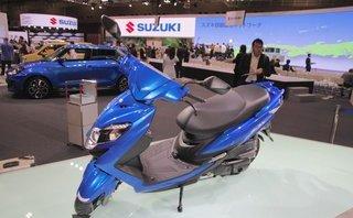 """Xe++ - Suzuki sắp trình làng xe tay ga 125cc mới """"đấu"""" Honda Grazia"""