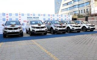 Xe++ - Xe giá rẻ Tata Hexa 'đổ bộ' Nepal, giá từ 170,62 triệu đồng