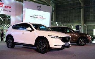 Xe++ - Mazda CX-5 2018 giá lăn bánh tại Hà Nội lên tới 1,124 tỷ đồng