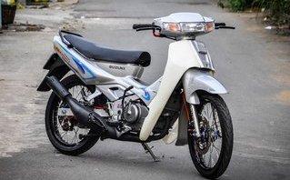 Xe++ - Suzuki 'xì po' độ 200 triệu tiền đồ chơi tại Cần Thơ