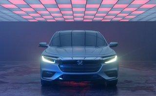 Xem trước hình ảnh tuyệt đẹp của Honda Insight 2019