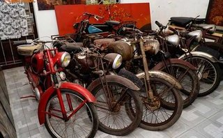 Xe++ - Kho báu xe máy cổ thời Pháp giữa lòng Hà Nội