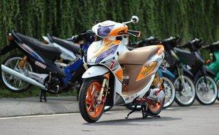 Thú chơi xe - Dân chơi Sài Gòn độ xe ga Honda Vision thành 'xế đua'