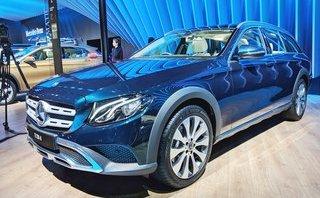 Thị trường xe - Chiêm ngưỡng xe sang off-road Mercedes E-Class All-Terrain