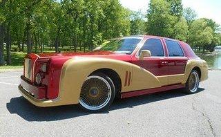 "Cận cảnh xe sang ""hồn"" Lincoln, ""da"" Rolls-Royce Phantom"