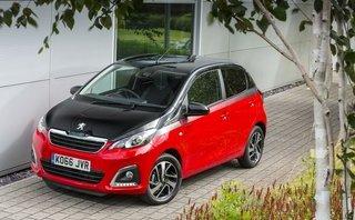 Xe đô thị cỡ nhỏ Peugeot 108 lộ diện, giá chỉ 281 triệu đồng