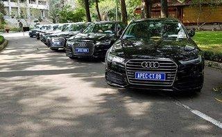 """Xe++ - Dàn xe sang Audi Apec """"rồng rắn"""" hội ngộ tại Dinh Độc Lập"""