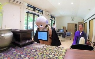 Công nghệ - Robot tham gia cử hành tang lễ cho các gia đình tại Nhật Bản