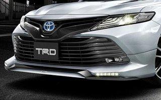 Xe++ - Toyota Camry 2018 hầm hố với gói phụ kiện TRD chính hãng