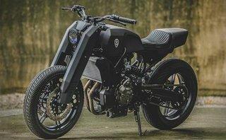 Xe++ - Yamaha MT-07 hóa vũ khí linh hồn bóng đêm đáng sợ