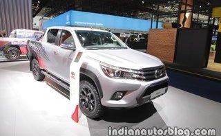 Xe++ - Toyota ra mắt phiên bản Hilux kỷ niệm 50 năm tại Frankfurt