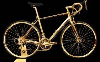 Xe++ - Top 5 mẫu xe đạp mạ vàng đắt nhất thế giới