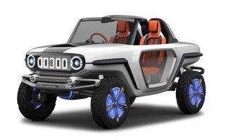 Xe++ - SUV off-road Suzuki e-Survivor tới tay khách hàng vào năm 2020