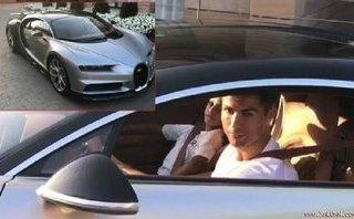 "Xe++ - Cristiano Ronaldo ""tậu"" siêu xe thể thao Bugatti Chiron mới"