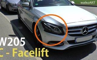 Xe++ - Mercedes-Benz C-Class 2018 facelift lộ diện trên đường thử