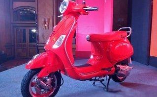 Xe++ - Ấn bản đặc biệt Vespa RED ra mắt Ấn Độ giá 30,26 triệu đồng