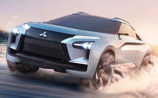 Xe++ - [Tokyo 2017] Cận cảnh chi tiết SUV công nghệ cao Mitsubishi E-Evolution Concept