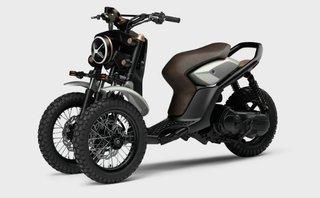 Xe++ - Yamaha 03GEN-X: Xe ga ba bánh độc đáo cho tương lai