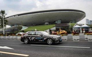 Xe++ - Mercedes-Benz thử nghiệm xe tự lái S-Class ở Trung Quốc