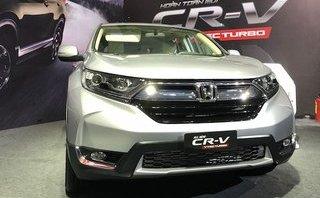 Giá ôtô Honda tháng 1/2018: CR-V 7 chỗ ngồi tăng gần 200 triệu đồng