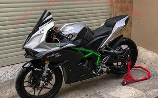 Thú chơi xe - Ngẩn ngơ trước Bajaj Pulsar RS200 độ siêu mô tô Ninja H2R của thợ Việt